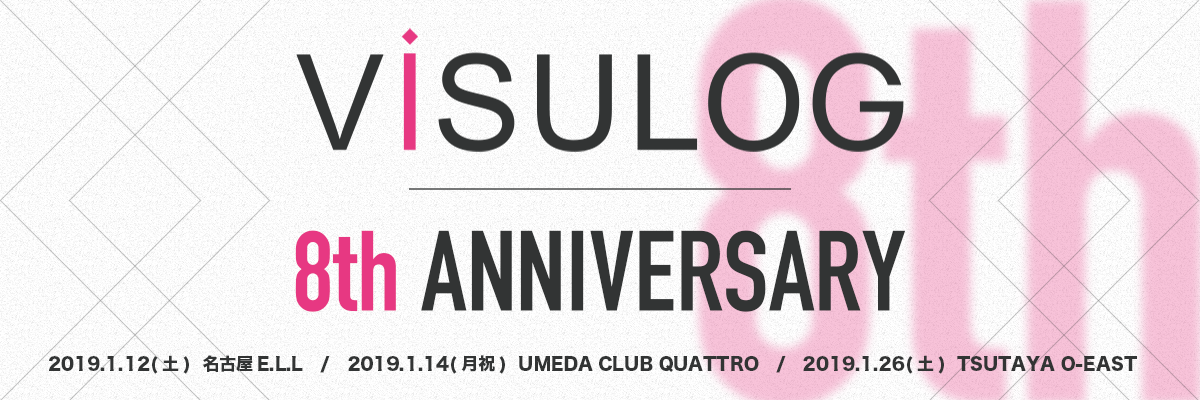 ViSULOG 8th ANNIVERSARY