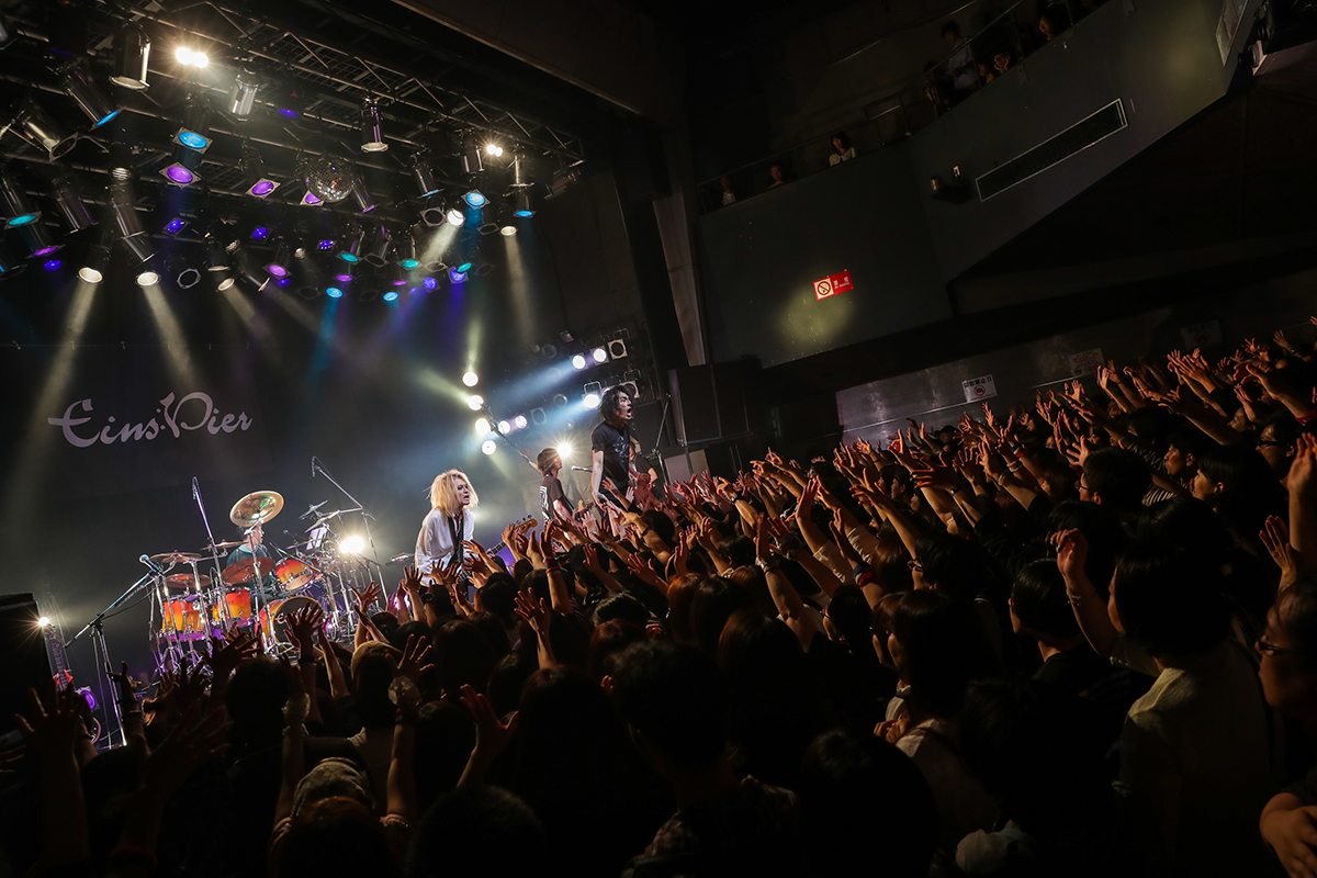 Eins:Vier Tour2018 Searching For You Final@TSUTAYA O-WEST
